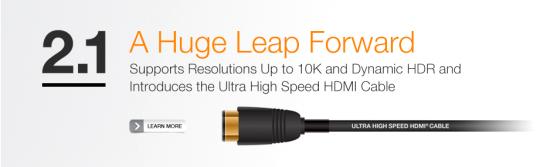 谈谈HDMI2.1是什么、HDMI标准的演变和HDMI线如何选