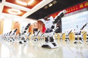 机器人集体尬舞