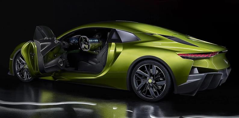 续航350km百公里加速4.5秒, DS的这款高端纯电动跑车竟长这样子