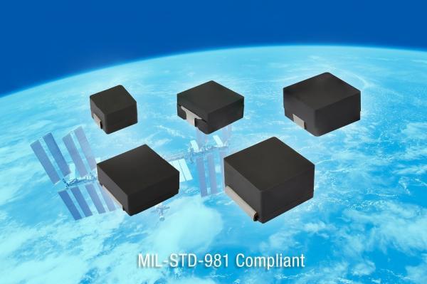 Vishay发布用于航天级应用的业内首个通过MIL-STD-981 S级认证的IHLP?电感器系列