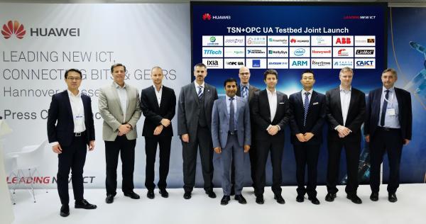 TSN+OPC UA智能制造测试床诞生,工业互联网发展提速