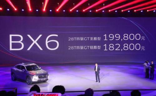 宝沃BX6品牌日正式上市 售18.28-19.98万