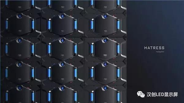 汉创新品小间距LED显示屏,采用600*337.5的箱体尺寸