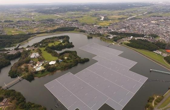 日本建成本国最大水上太阳能发电站