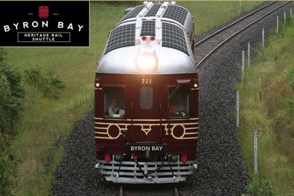 """世界首辆""""零排放""""太阳能火车在澳大利亚运行,载客100名"""