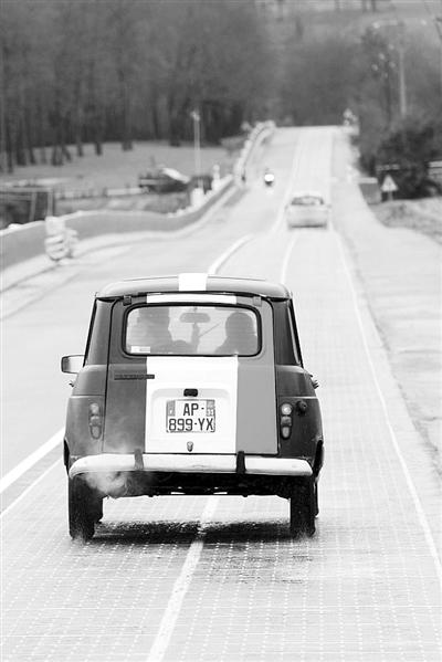 太阳能道路 让电动汽车边跑边充电
