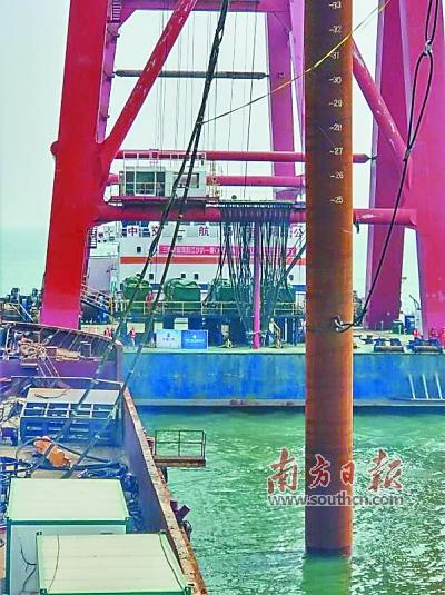 广东阳江四大海上风电项目全部打桩开工