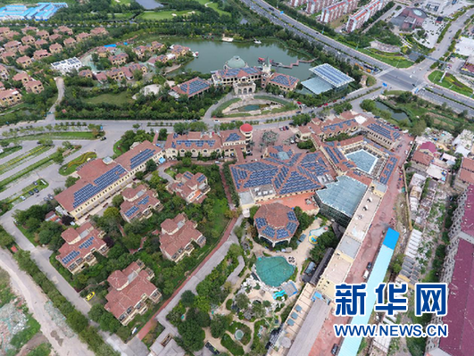 单晶光伏爬上温泉酒店屋顶 在靓丽风景中获得更多收益