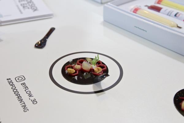 3D打印食品亮相阿姆斯特丹