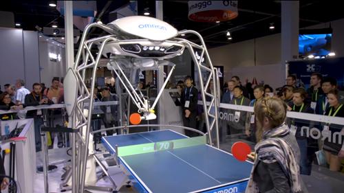 机器人早报:CES 2018上那些炫酷机器人的精彩瞬间