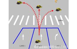 一种车辆区域识别超声波避障传感器
