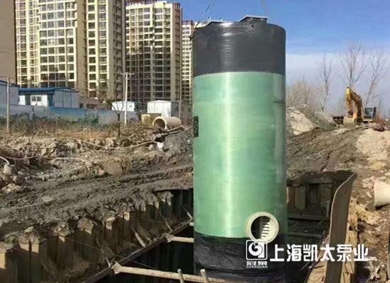 上海凯太一体化预制泵站 为城镇建设频献力