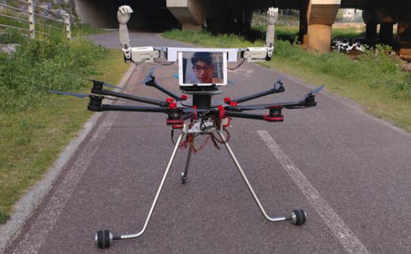 无人机与机器人合体,将擦出什么样的火花?