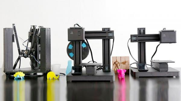 多功能3D打印机:3D打印、镭射雕刻、CNC加工全能搞定