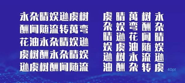扒一下阿里全球首个AI中文字库背后的黑科技