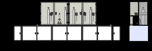 激光自动化,手机中框导电位自动镭雕解决方案