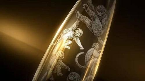 玻璃制品激光雕刻
