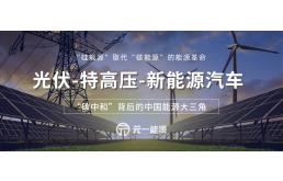 """""""碳中和""""背后的中国能源三大主力:光伏、特高压、新能源"""