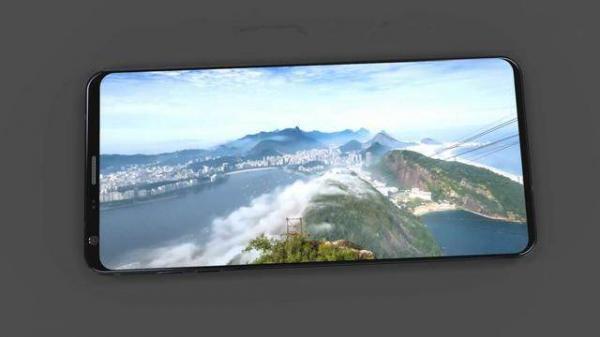 LG G7全面屏概念图,如此惊艳