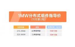 1MW光伏组件量级价目!