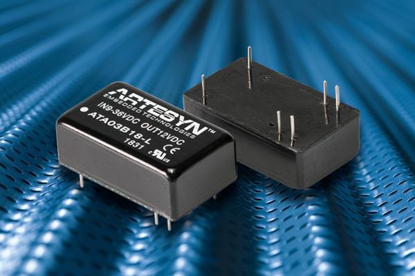 雅特生推出新型工业用直流/直流电源转换器