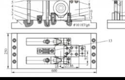阀体立式加工中心夹具方案