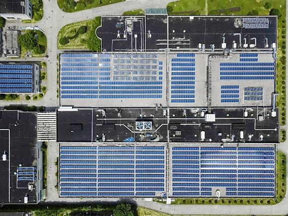 聚高新能源为清远3MW屋顶电站提供光伏支架