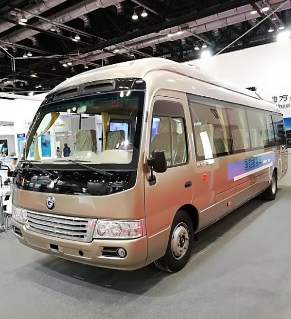 氢能源时间表公开,陆地方舟氢能源客车新品在深发布