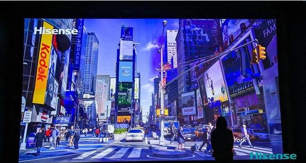 领先日韩企业!全靠自主研发,海信推出全球领先的300吋激光影院