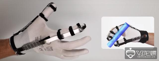 瑞士科学家研发 8克 VR触觉手套,触觉由电力驱动