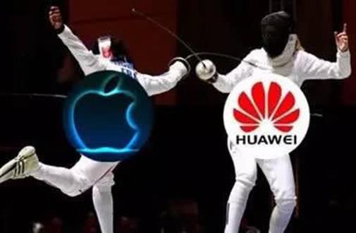从2017年的数据看,华为挑战苹果正变得困难