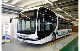 比亚迪首辆跨国运营的纯电动大巴交付,中匈友好合作的绝佳范例