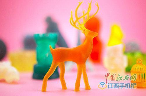 江西大学毕业生研发3D打印机 引爆国外