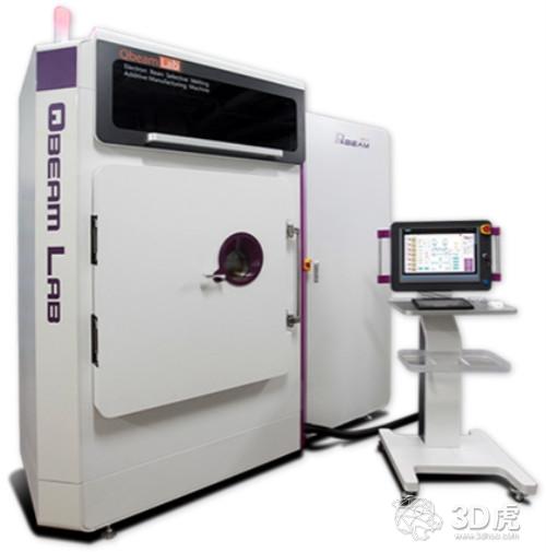国内首台粉床电子束金属3D打印机QbeamLab面世