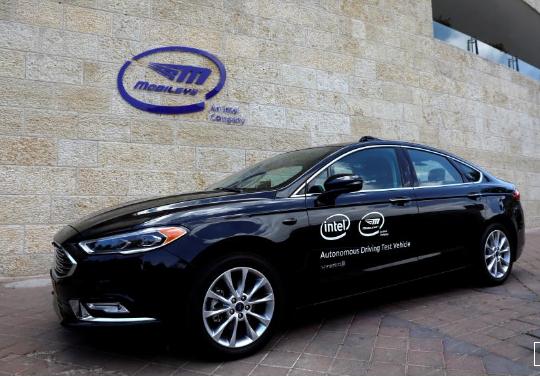 英特尔旗下Mobileye将向800万辆汽车提供自驾技术