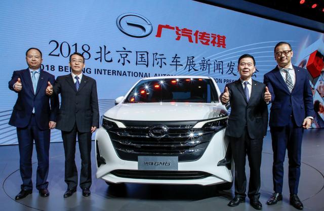 广汽传祺2018北京车展有看点!GM6 全球首发,Enverge国内首秀