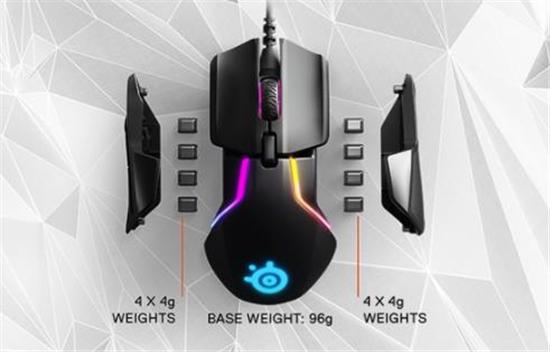 赛睿在CES 2018上发布了全新游戏鼠标:采用双传感器系统