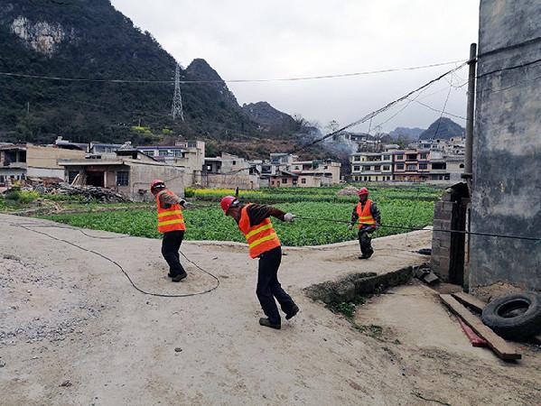 镇宁:村村通光纤 户户能上网