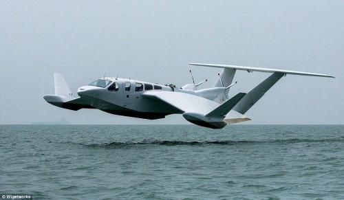 """新加坡公司开发""""飞行船"""":时速可达196公里"""
