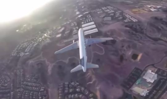 拉斯维加斯机场附近有人用无人机航拍客机,FAA展开调查