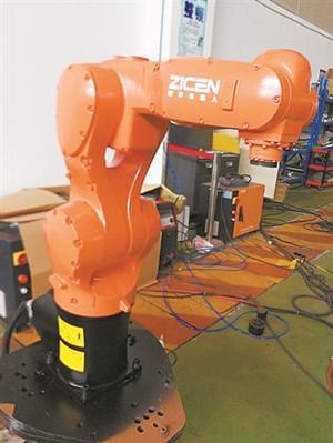 甬产六轴机器人杀入美国市场