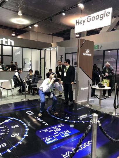 """VR""""车展""""亮相CES,创维酷开2018年VR解决方案全面升级"""
