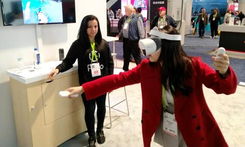 Pico全新VR一体机CES强势来袭 与国际品牌同台竞技