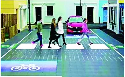 是斑马线也是红绿灯 | 智能人行横道