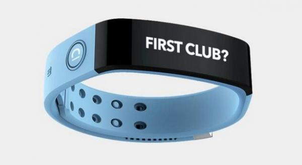 号称第一款专为足球粉丝设计的智能手环