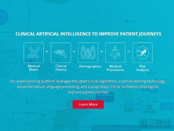 """被腾讯看中,入选CB Insights""""AI100强"""" ,CloudMedx用AI技术降低患者再入院率"""