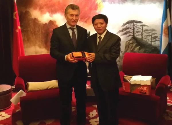 马克里总统及其家族力挺,江淮汽车将于3月份正式登陆阿根廷