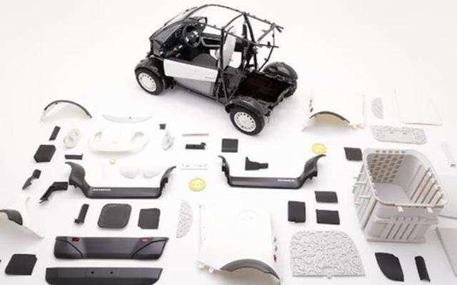 还在讨论蔚来和特斯拉?首款3D打印电动车都来了,19年量产