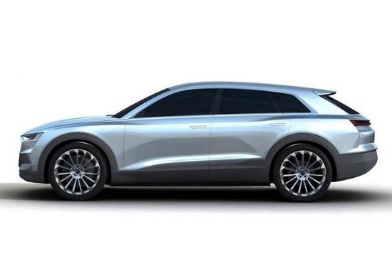 扭矩800牛米,续航500公里比Q5还大,奥迪首款高档电动SUV亮相