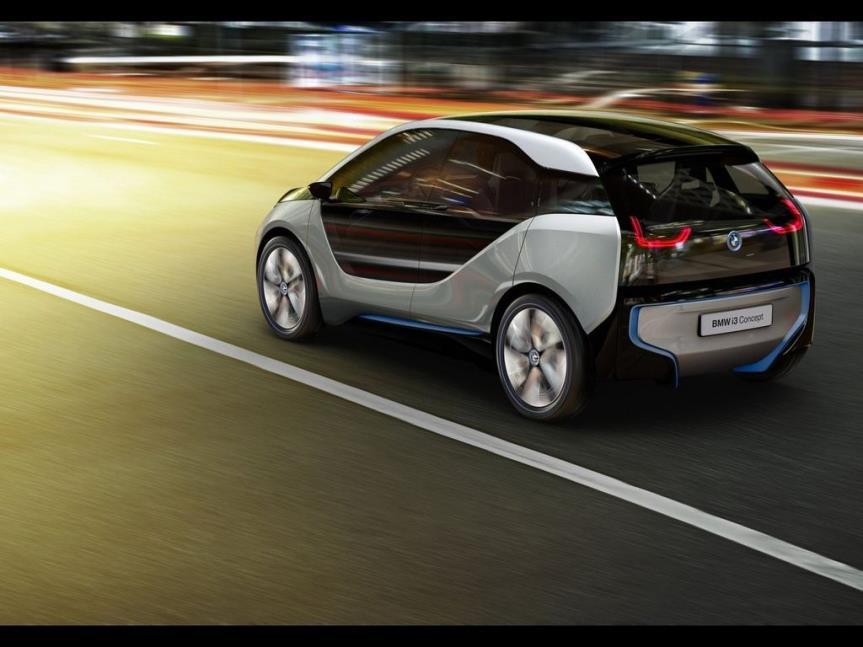 未来科技既视感,新款宝马i3从22世纪穿越而来,酷似电影概念车